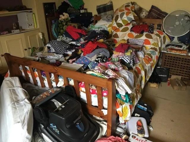 Decluttering The Zero Waste Way - my attic