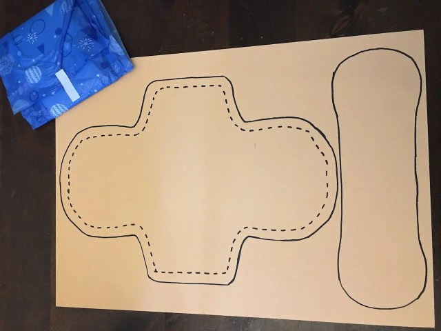 Reusable Sanitary Pads - template