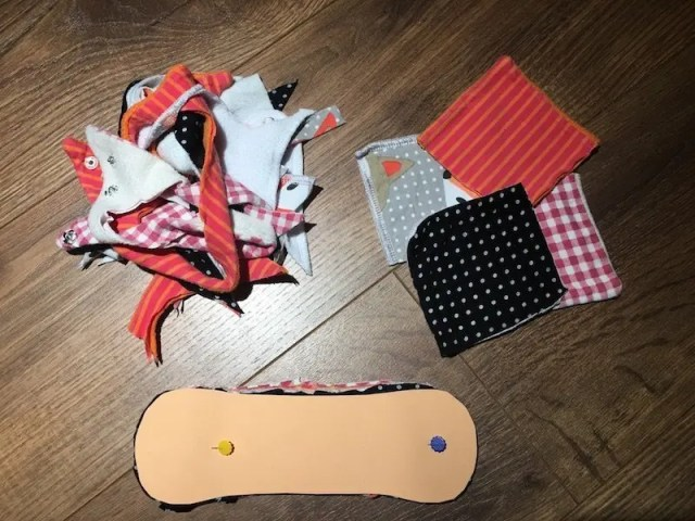 Reusable Sanitary Pads - cutting core