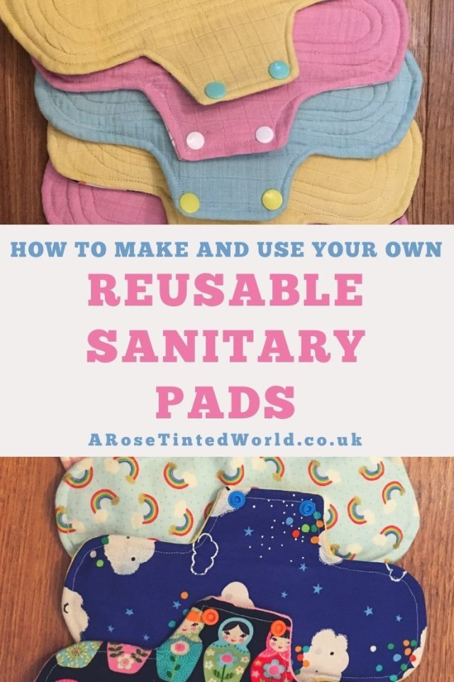Reusable Sanitary Pads - How To Make And Use Them ⋆ These are a great way of upcycling old clothes and bedding. Find out the advantages. How to wash. How to clean. How to make. Chart of core layers needed. Materials to use. Step by step tutorial on how to make these zero waste items #upcycling #reusablesanitarypads #zerowaste #makeyourownsanitarypads #sewingtutorial