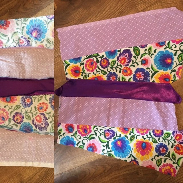 New Fabric from old fabric scraps