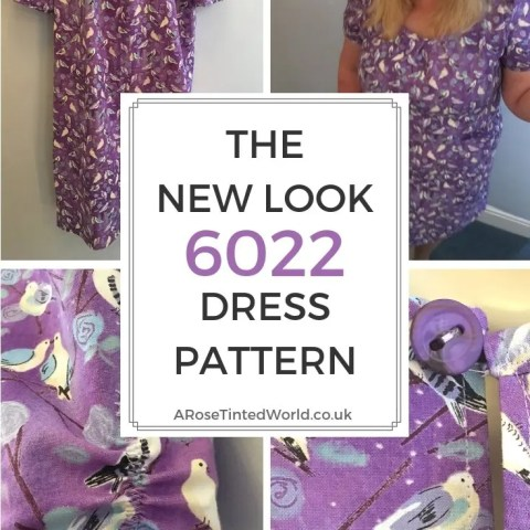 The New Look 6022 Dress Pattern