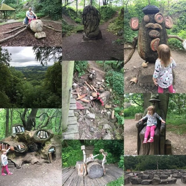 The Woodland Walk at Crich Tramway Village