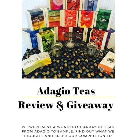 Adagio Teas – Review And Giveaway