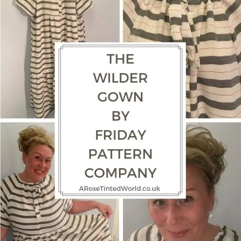 The Wilder Gown By Friday Pattern Company