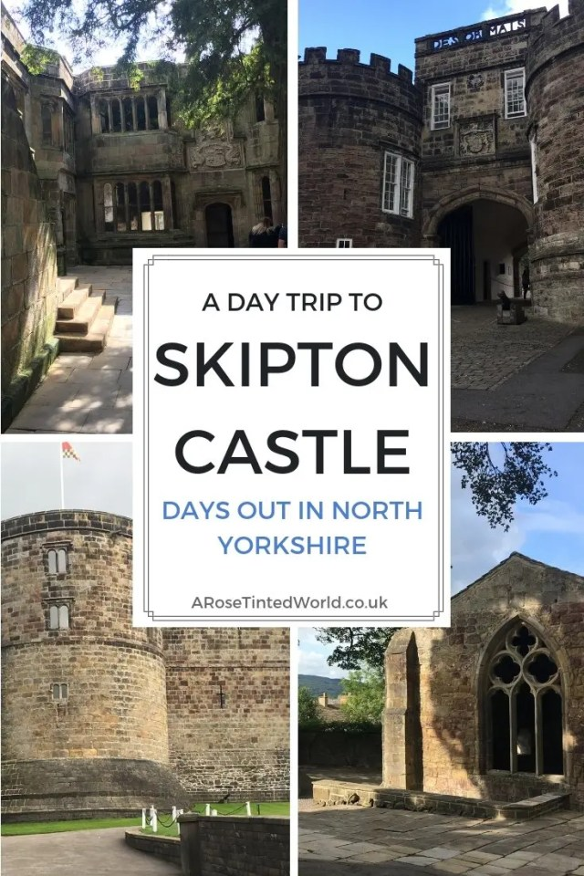 A Trip To Skipton Castle - we visited this most well preserved and complete castle in Northern England. In the town of Skipton in North Yorkshire, this attraction has a wealth of history and interesting features. It held out for over 3 years in a siege during the English Civil War. See what we thought of this castle, and what was the highlight for our 3 year old. Great idea for a day out with children. Great place to visit when in the Yorkshire Dales. #castle #northyorkshire #skiptoncastle #daysout #daysoutinyorkshire #daysoutinnorthyorkshire #tripout #daysoutwithatoddler #daysoutwithasmallchild #history #historiclandmark #englishcivilwar #wellpresevedcastle #skipton #yorkshiredales