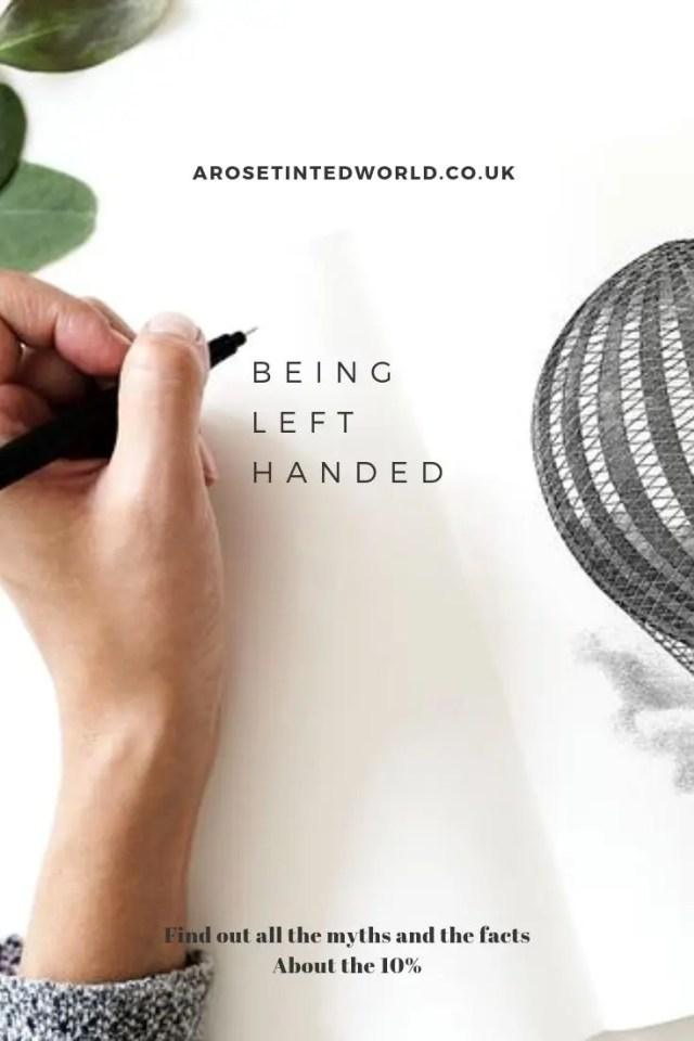 Being Left Handed - what are the myths and facts about being a leftie. Are left-handers rare? Are they better at sports? More creative? More intelligent? As a leftie, I love the fact that we get our own day, and I know that the world is more biased to right handers, so here are the real facts about being a cack-hander. Plus, some ideas for your favourite Southpawed person. #lefthanded #lefthander #lefthandersday #giftsforlefthanders #giftsforlefties #beinglefthanded #leftie #cackhanded #southpaw #lefthandedgifts