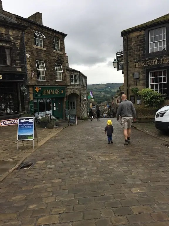 Top of Haworth High Street