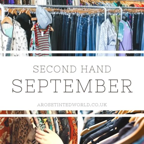 Second Hand September – Could Your Wardrobe Be More Sustainable?