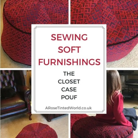 Sewing Soft Furnishings – The Closet Case Pouf