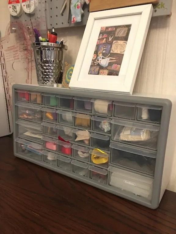 The 30 Drawer Organiser Storage from VonHaus