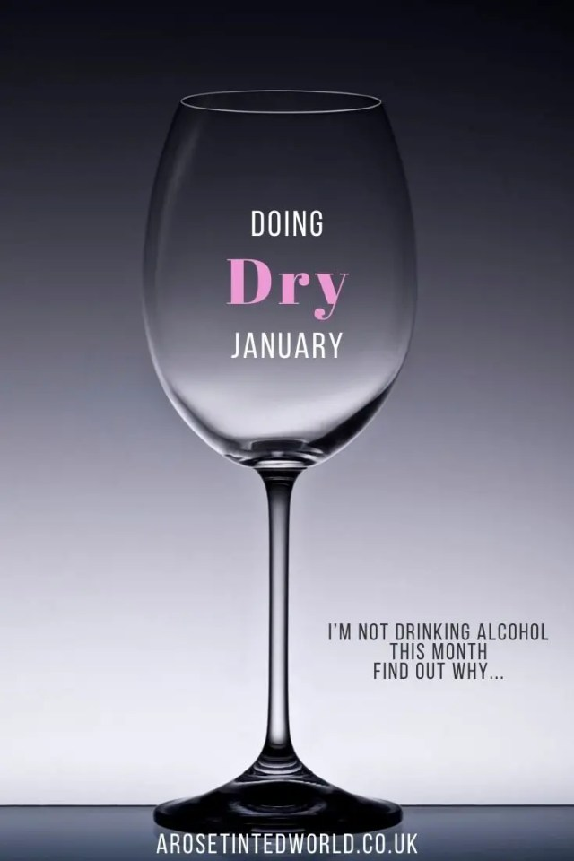 Doing Dry January - this month I am giving up alcohol. Why? Because I have realised that maybe I have a problem with booze, but also for many other reasons. See my reasons here. #dryjanuary #booze #sobriety #soberlife #soberliving #givingupalcohol #givingup #drinking