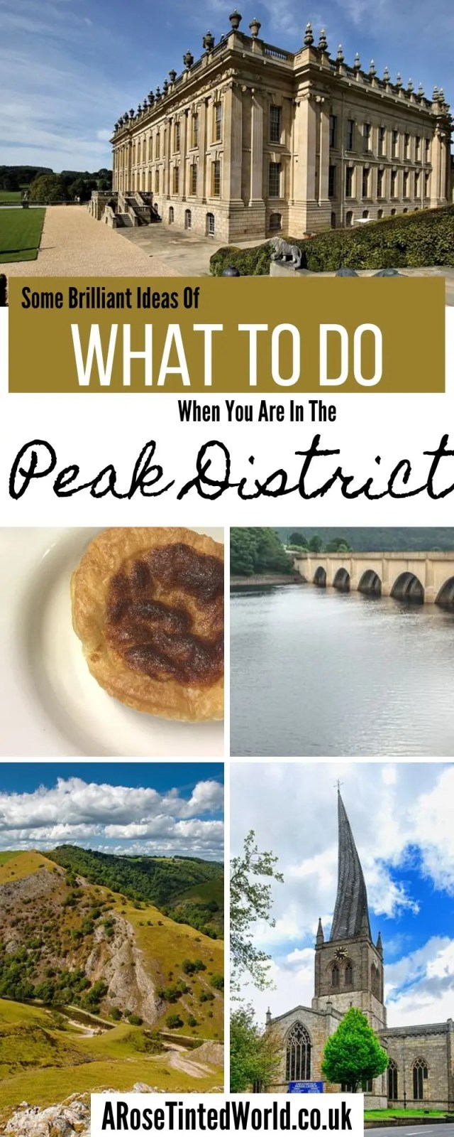 Things You Need To Do When In The Peak District - here are our recomendations for places and attraction to see in the Derbyshire countryside and the Peak district. See historic places and spectacular scenery #peakdistrict #visitderbyshire #historicplaces #historichomes #chatsworth #thingstodo #placestovisit #placestogo #placestotravel #haddonhall #chesterfield