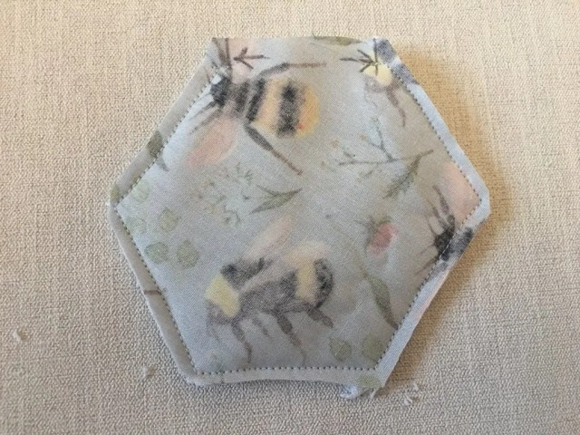 Making a Make Up Remover Pad 3