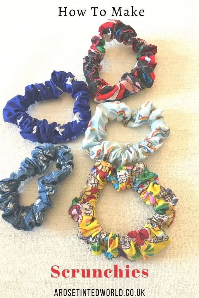 Scrunchies - Sewing Projects That You Can Sell - make money from what you sew with these ideas for brilliant & sellable DIY items. Links to Full step by step tutorials for each. #sewing #sewingtosell #sewingprojects #sellinghandmade #craftfairs #craftfairideas #sewingcrafts
