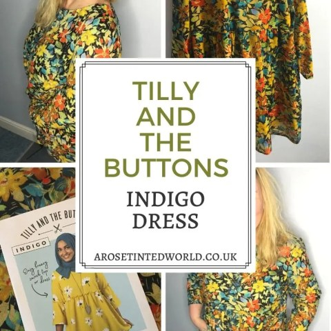 Tilly And The Buttons Indigo Dress