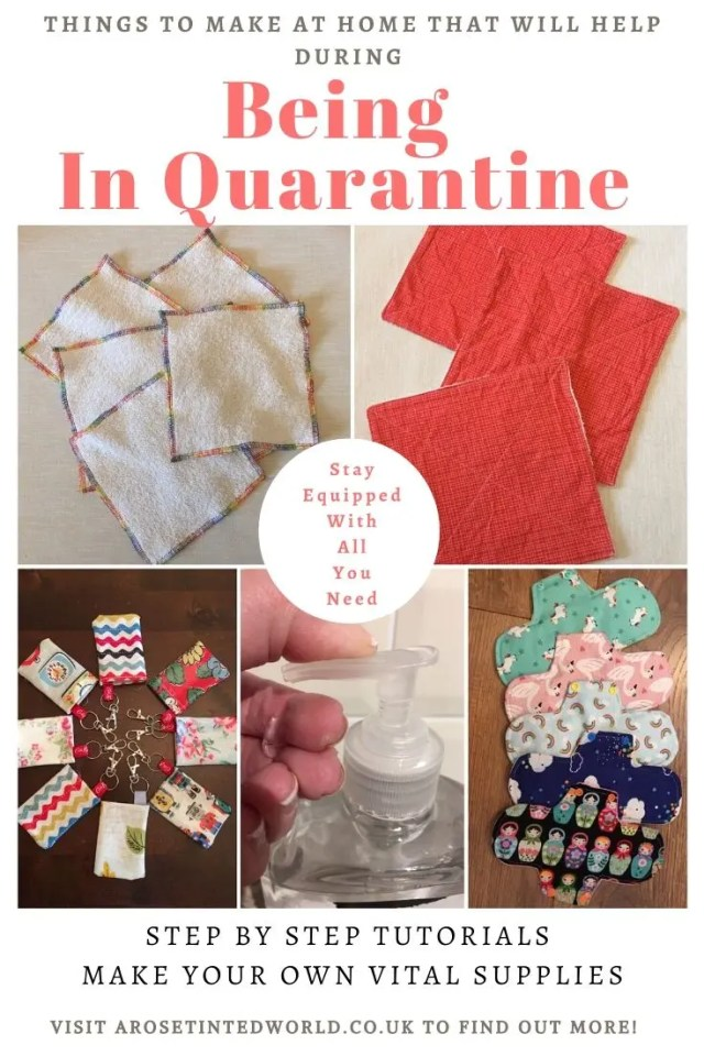Things To Make At Home That Could Help You Whilst Being In Quarantine - follow these simple DIY tutorials & keep equipped with all you need right now. #sewing #DIY #tutorial #makeyourown #quarantine