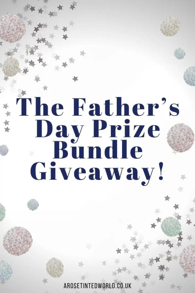 The Father's Day Prize Bundle Giveaway - win a fabulous selection of gifts for your Dad worth over £200 in this super competition. Find out more here.