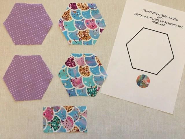 Making Hexagon Pouches 1