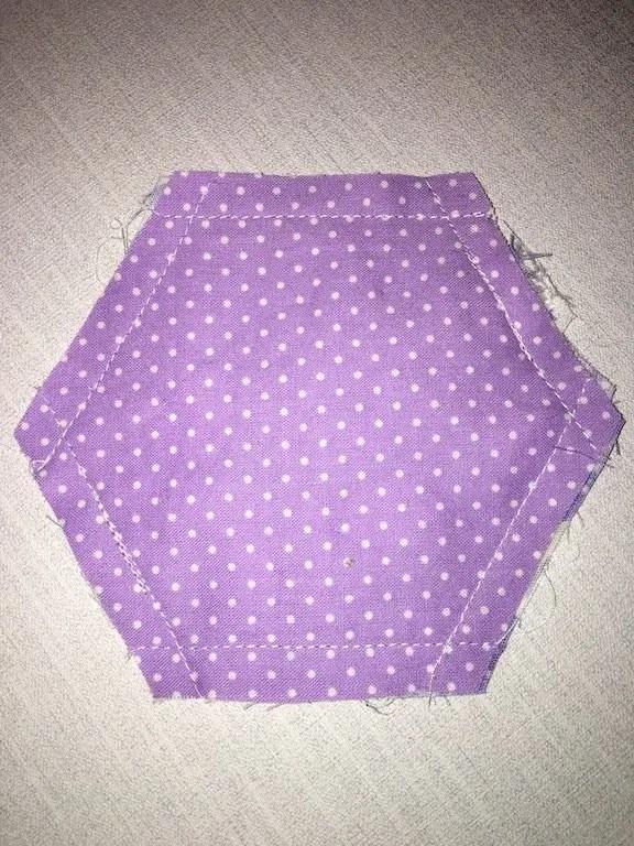Making Hexagon Pouches 16
