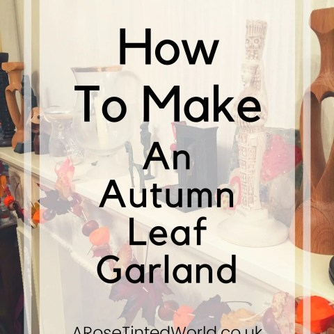 How To Make An Autumn Leaf Garland