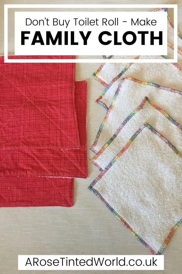 Family Cloth - DIY Projects You Can Make At Home To Save Money - stop buying expensive disposable items and make these reusable ideas instead. Great ideas for items that you can make yourself to use around the home and save cash. Easy making and sewing craft projects for frugal living. Money saving makes for ecofriendly and sustainable living. Upcycling, repurposing and recycling ito create useful items around the home. #diyprojects #moneysavingprojects #sewing #easysewingprojects