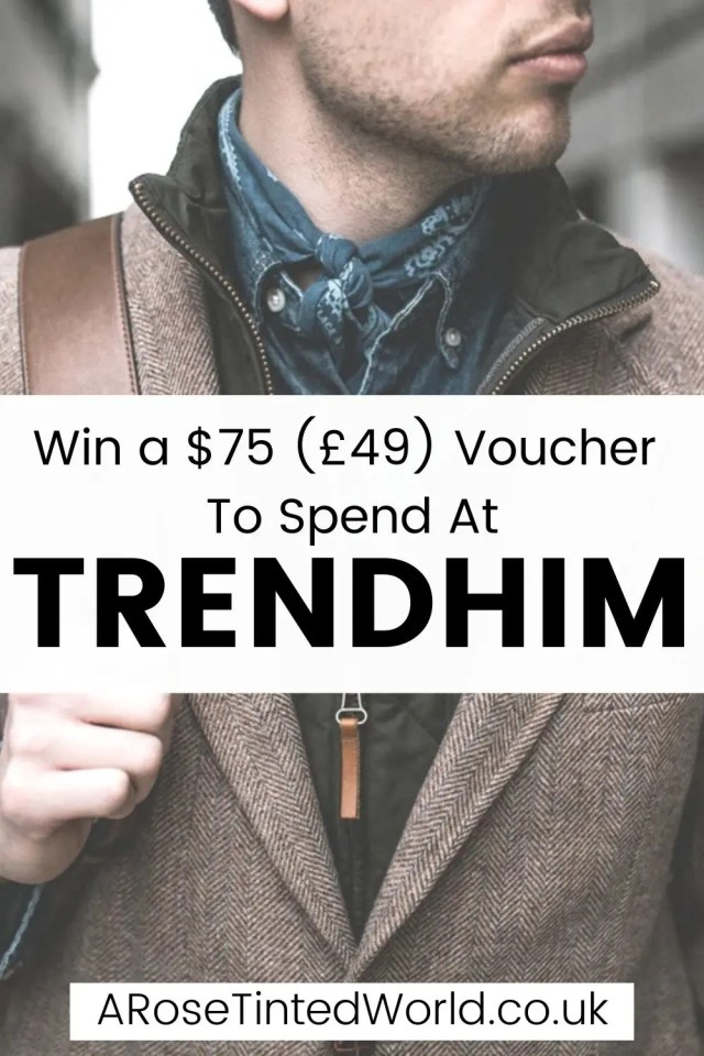 Win A Voucher To Spend At Trendhim - introducing you to Danish brand Trendhim. Find out how you can win $75 (£45) to spend on their site!