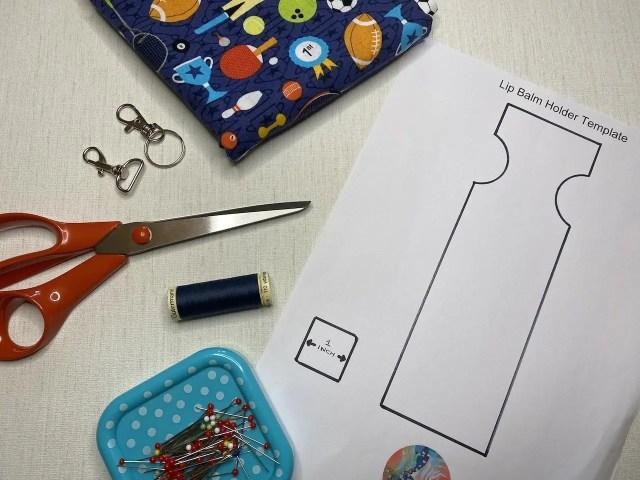 Materials needed for lip balm holder