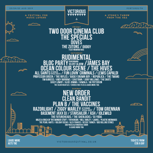 Victorious 2019 lineup