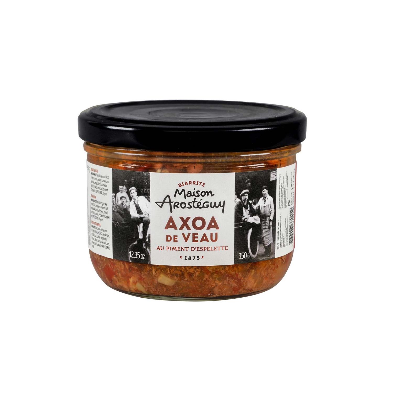 Axoa de veau du Pays Basque cuisin au piment dEspelette