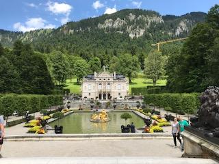Familienausflug zum Schloss Linderhof