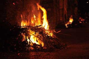Festa delle Lanterne il 1 novembre a Orsara di Puglia