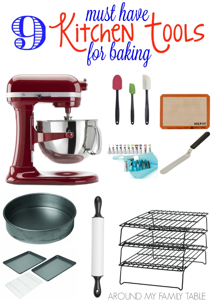 The Best Kitchen Tools for Baking  Around My Family Table