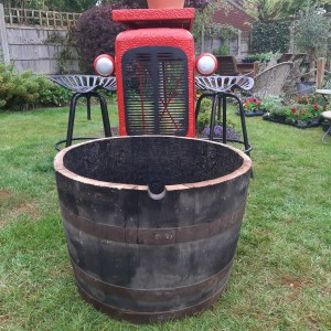 Genuine Ex Whiskey Barrel Planter, large barrel planter, Around the garden table, garden gifts, garden accessories, garden centre delivery, plants Kent, plants Northiam, plants maidstone, flowers Kent, flowers delivered Kent, plants, flowers, bedding plants, seasonal bedding, seasonal bedding plants, edible plants, wildlife habitats, compost and mulches Kent, garden furniture, garden furniture Kent, gardening East Sussex, locally delivered garden supplies, contactless delivery, garden supplies with contactless delivery, vegetable seeds, vegetable plants, affordable garden furniture, wholesale garden supplies, bespoke planters, gift planters, garden inspiration, heart and soul gardening, #thechickenknows, Pop-Up Garden Boutique, free local delivery plants, free local delivery garden gifts, free local delivery garden accessories