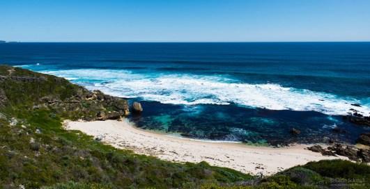 beeindruckende Küstenverläufe