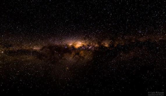 die Milchstraße... von hier aus mega beeindruckend..