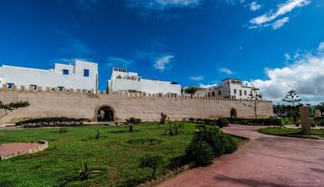 Stadtmauer in Essaouira