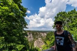 Carlo in der Sächsische Schweiz