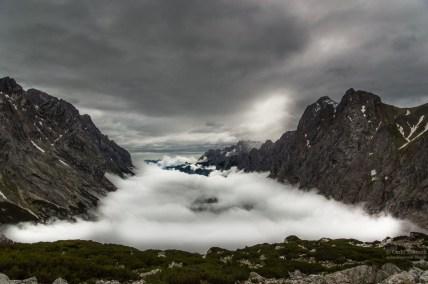 Nebel über das Reintal