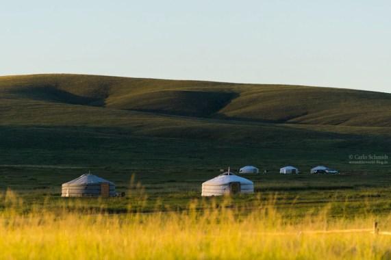 Nomaden Siedlung