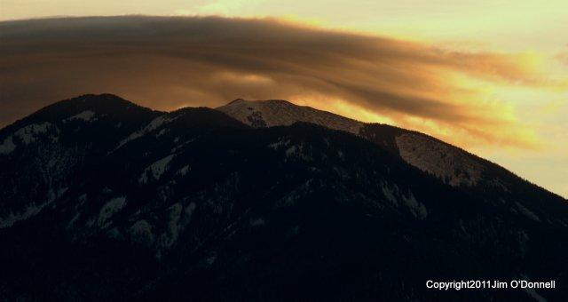 photograph sunrise taos