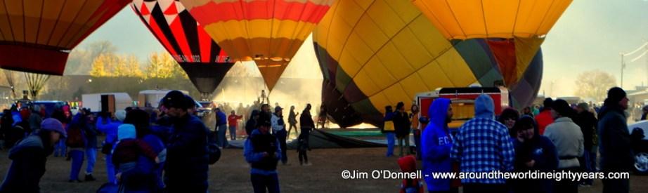 Taos Mountain Balloon Rally. Taos, New Mexico. USA