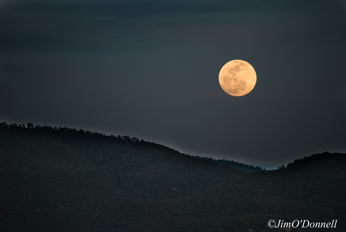 Moonrise Taos