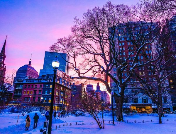 Photos of Beautiful Boston Under Two Feet of Blizzard Snow