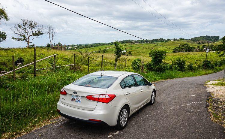 Puerto Rico rolling hills