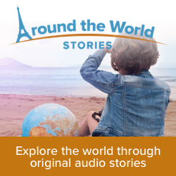 Try AROUND THE WORLD STORIES for homeschooling!