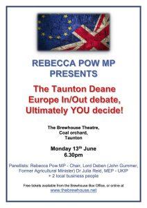 EU Debate poster 2