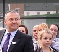 Manager Chris Reynard