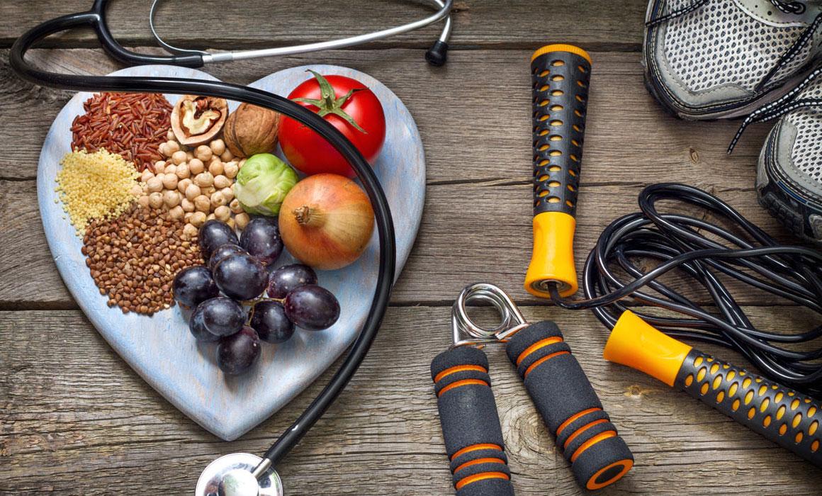 Comida-sana-y-ejercicio