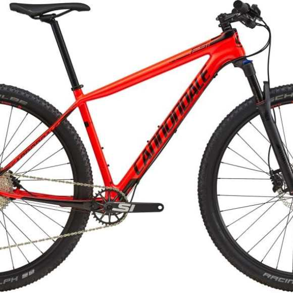 Bicicleta 27.5 Cannondale F-Si Carbon 5 Size S Rojo ARD (93064)